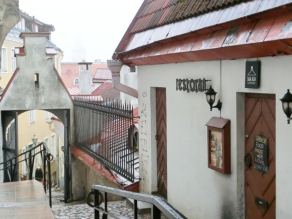 Lifte 北欧の暮らし エストニア タリン 旧市街 世界遺産 路地