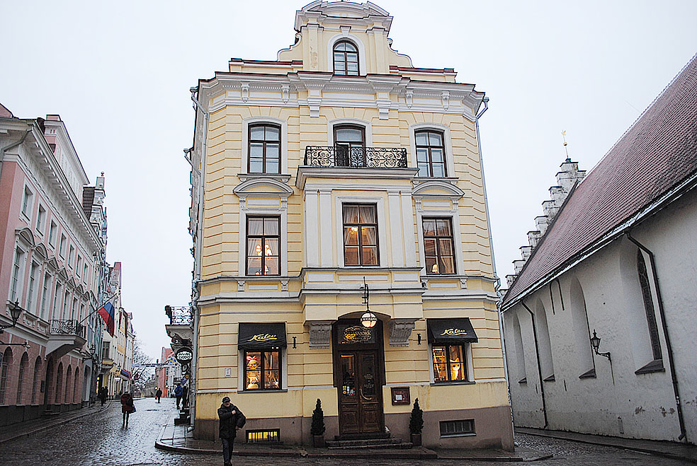 Lifte 北欧の暮らし エストニア タリン 旧市街 世界遺産 マジパンルーム