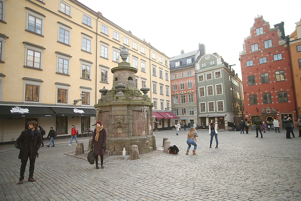LifTe 北欧の暮らし ストックホルム スウェーデン ガムラスタン Grillska Huset 広場