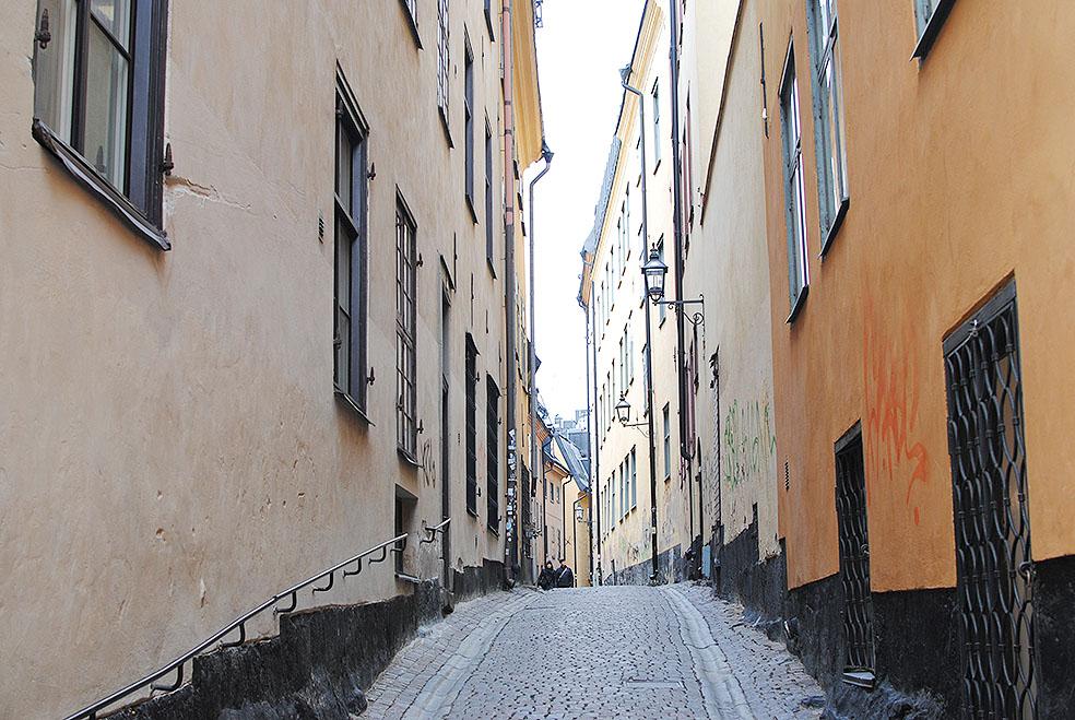 LifTe 北欧の暮らし ガムラスタン ストックホルム スウェーデン 路地