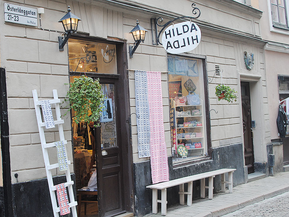 LifTe 北欧の暮らし スウェーデン ストックホルム ガムラスタン HILDA HILDA ヒルダヒルダ