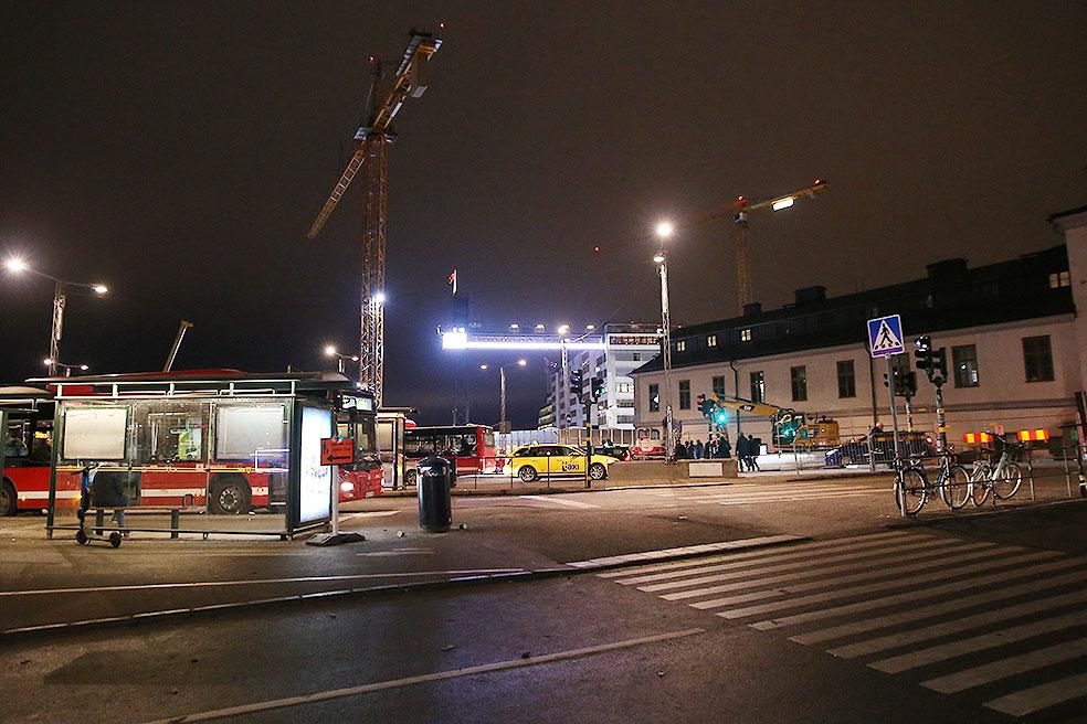 LifTe 北欧の暮らし スウェーデン ストックホルム Katarinahissen カタリーナヒッセン 夜景