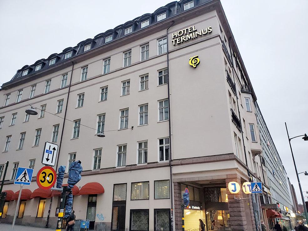 LifTe 北欧の暮らし ストックホルム ホテルテルミナス HOTEL TERMINUS