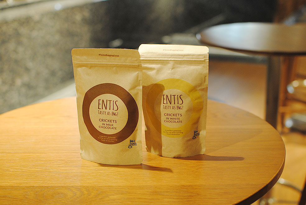 LifTe 北欧の暮らし コオロギ 昆虫食 ENTIS TASTY AS BUG フィンランド