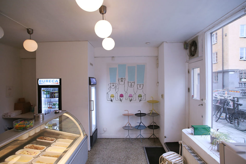 LifTe 北欧の暮らし スウェーデン ストックホルム Kungsholmens Glassfabrik アイスクリーム