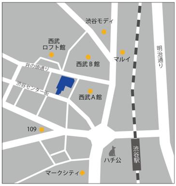 LifTe 北欧の暮らし IKEA渋谷 地図