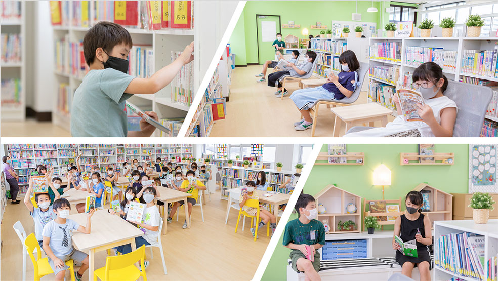 LifTe 北欧の暮らし IKEA イケア 足立区立亀田小学校 図書館改装