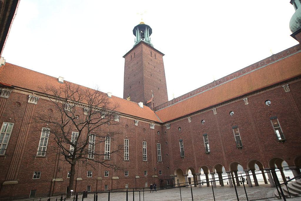 LifTe 北欧の暮らし 北欧現地レポート 8日目 ストックホルム 北欧旅日記 ストックホルム市庁舎 中庭