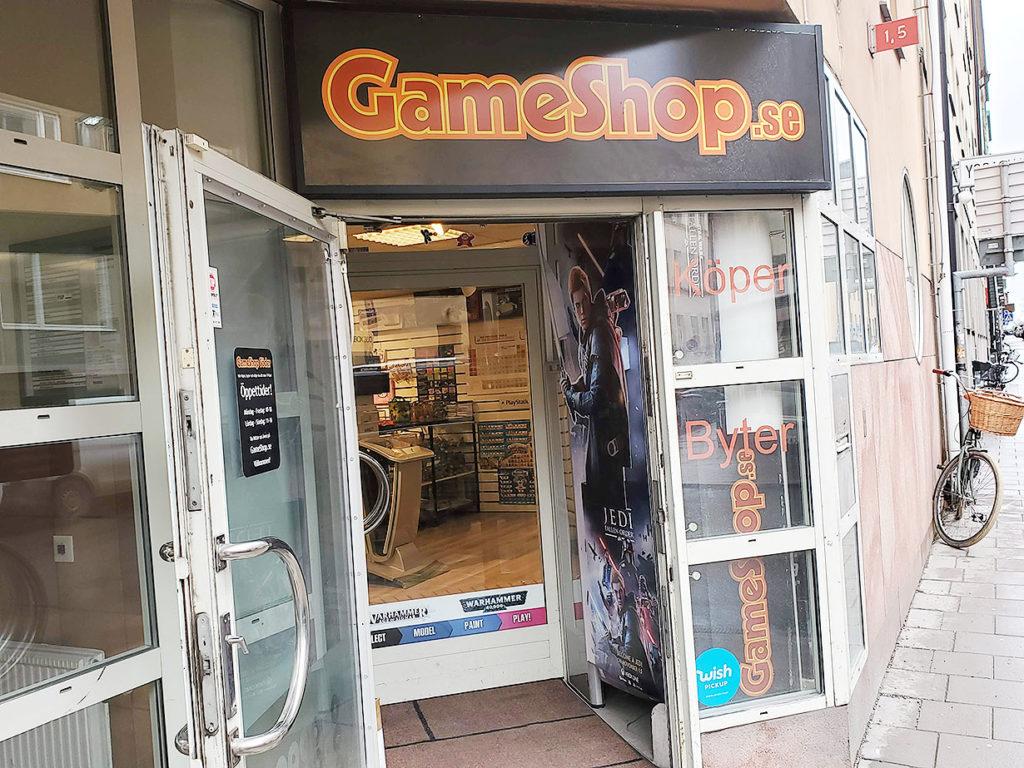 LifTe 北欧の暮らし スウェーデン ストックホルム gameshop.se gameshop ゲームショップ