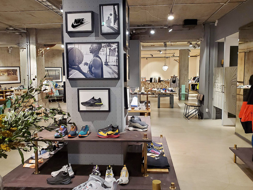 LifTe 北欧の暮らし スウェーデン ストックホルム Sneakersnstuff スニーカーズエンスタッフ SNS
