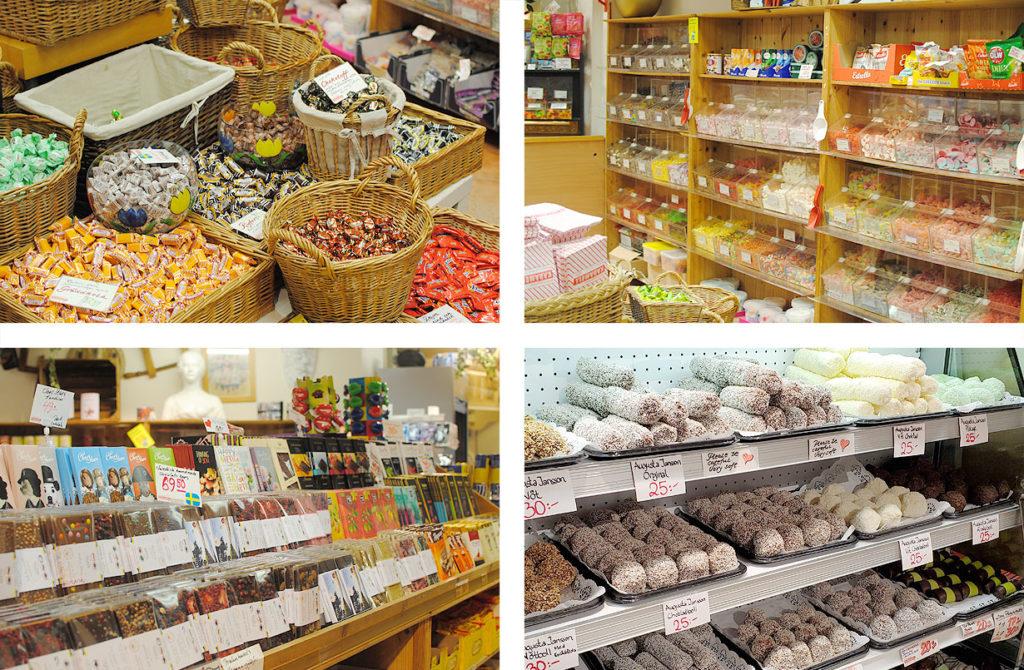 LifTe 北欧の暮らし 北欧現地レポート ストックホルム 9日目 北欧旅日記 Börjes Blommor & Karamellaffär お菓子屋