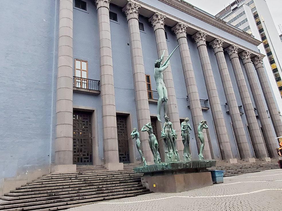 LifTe 北欧の暮らし 北欧現地レポート ストックホルム 9日目 北欧旅日記 ストックホルム・コンサートホール オルフェウスの噴水群像 カール・ミレス