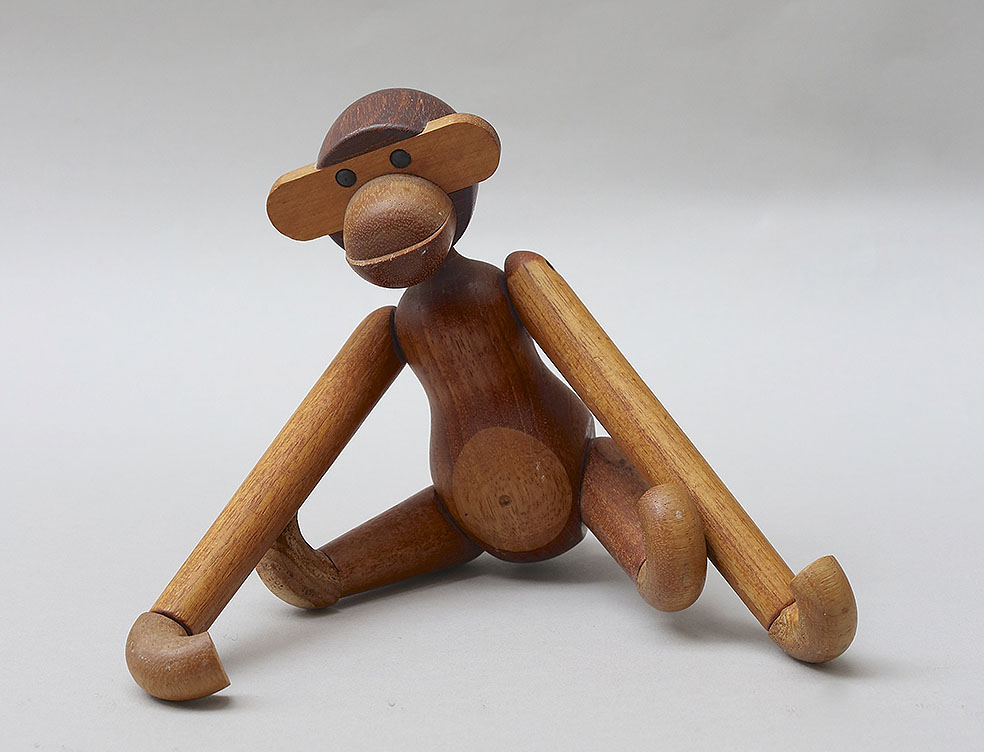 LifTe 北欧の暮らし デンマーク・デザイン 特別展 神戸ファッション美術館 カイ・ボイスン 玩具 サル 猿 モンキー