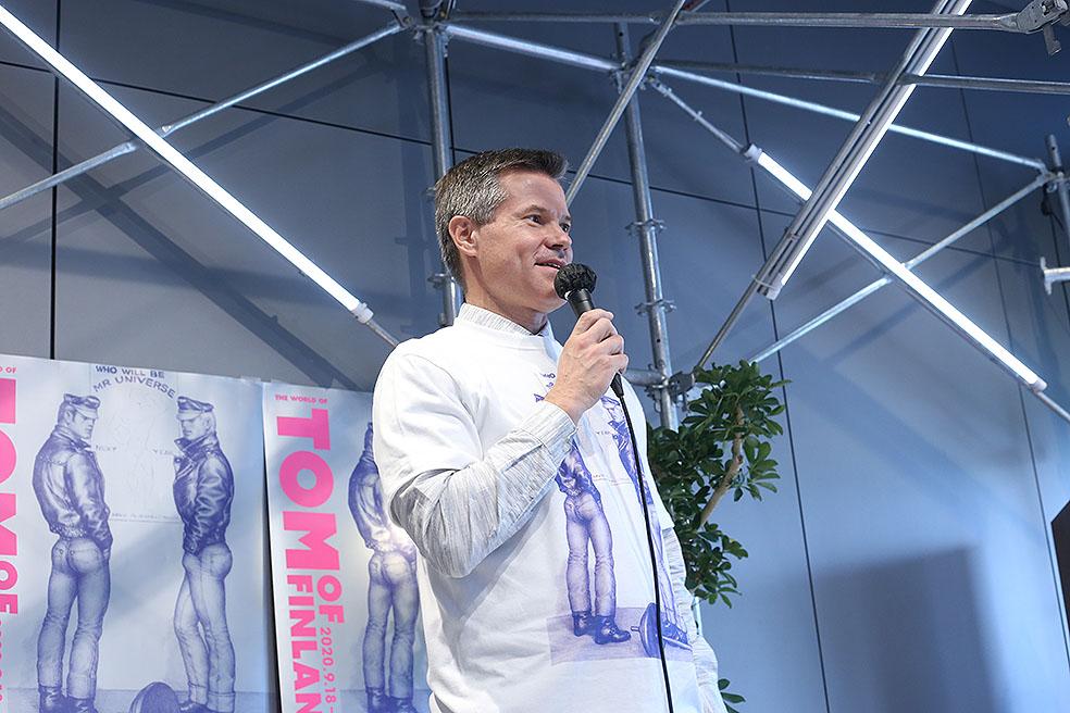 LifTe 北欧の暮らし トム・オブ・フィンランド フィンランド 渋谷パルコ GALLERY X トウコ・ラークソネン マルクス・コッコ広報参事官