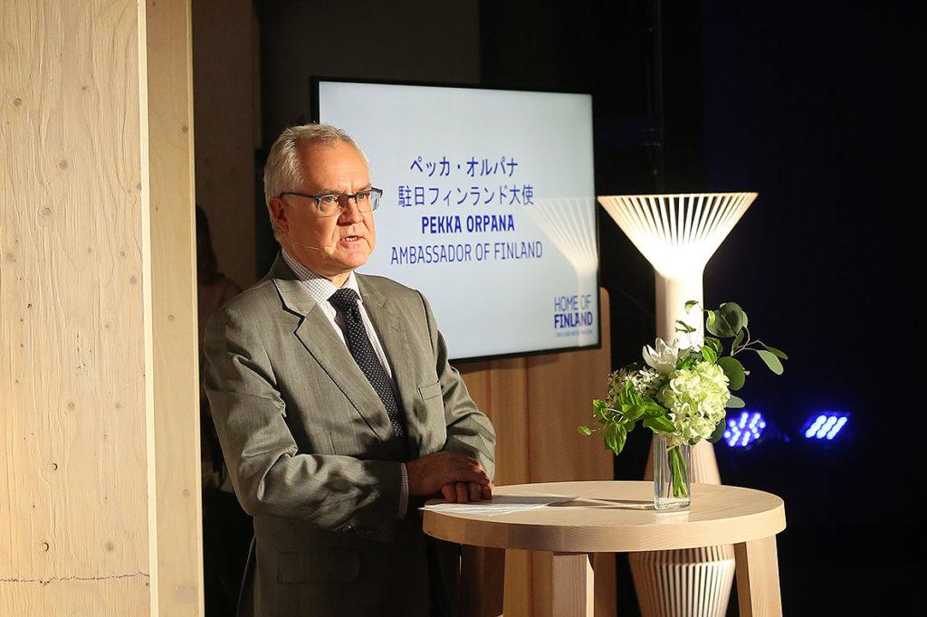 LifTe 北欧の暮らし メッツァ・パビリオン フィンランド大使館 ペッカ・オルパナ駐日フィンランド大使