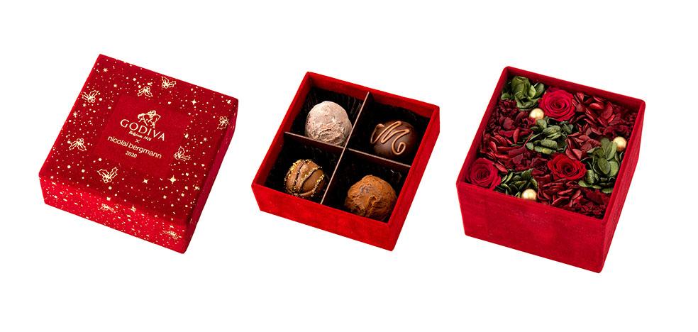 LifTe 北欧の暮らし デンマーク ゴディバ ニコライバーグマン クリスマス ギフト ゴディバ × ニコライ バーグマン 華あるスイートなクリスマスのひと時