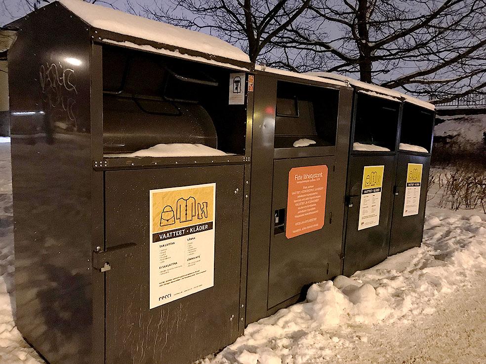 LifTe 北欧の暮らし フィンランド リサイクルシステム 衣類 uff
