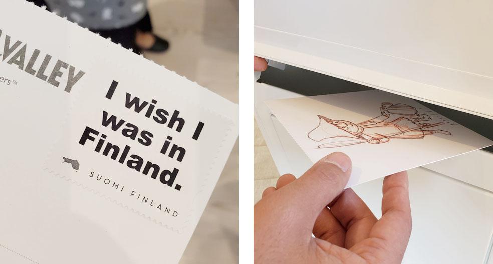 LifTe 北欧の暮らし フィンランド大使館 メッツァ・パビリオン happy day in finland ポストカード ムーミン 手紙