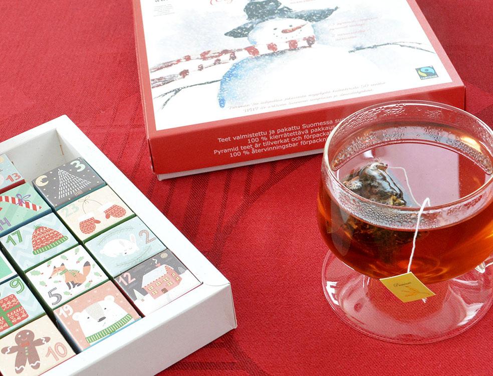 LifTe 北欧の暮らし クリスマス アドベントカレンダー 「Forsman Tea(フォルスマンティー) 北欧雑貨