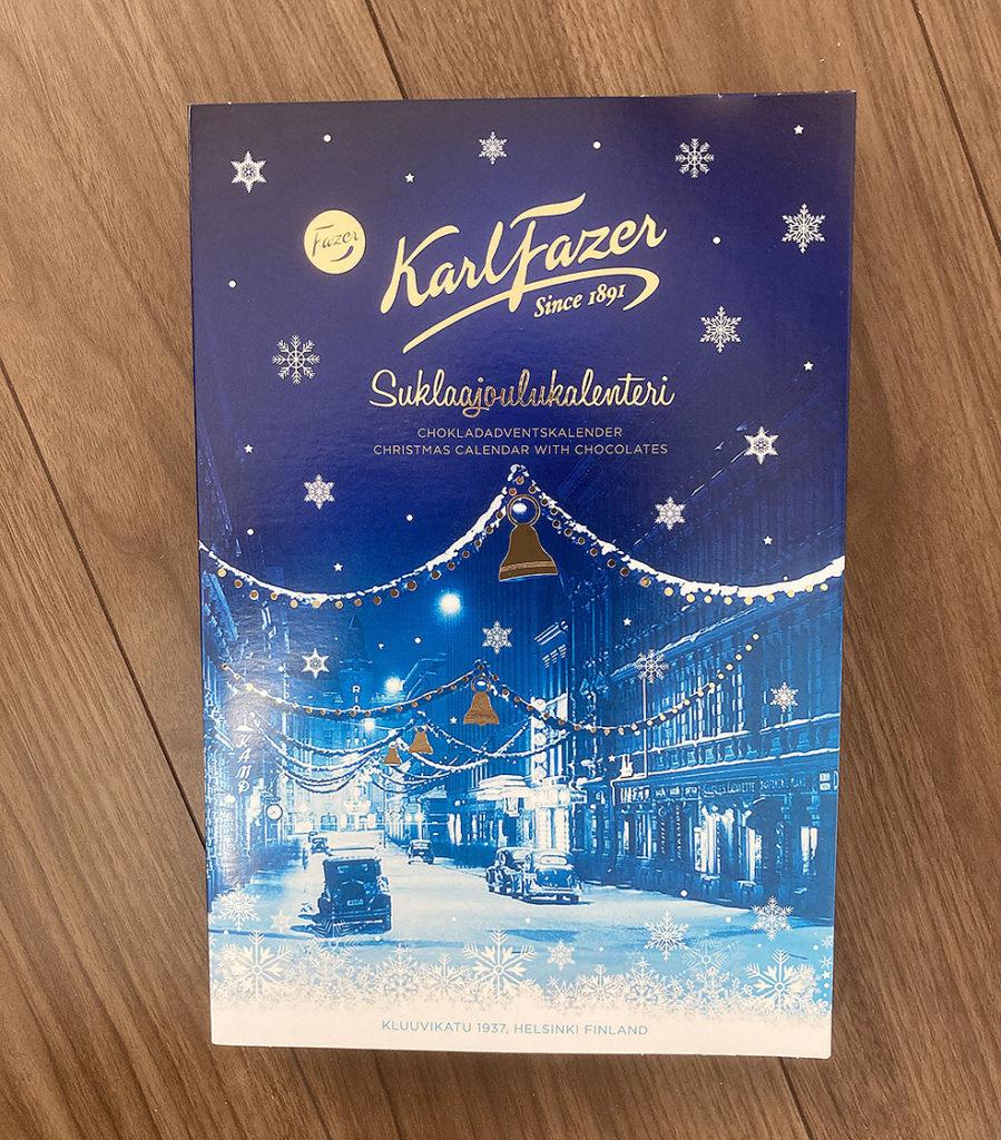 LifTe 北欧の暮らし クリスマス アドベントカレンダー fazer ファッツェル