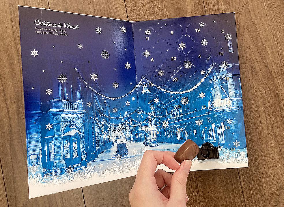 LifTe 北欧の暮らし クリスマス アドベントカレンダー fazer ファッツェル  2020