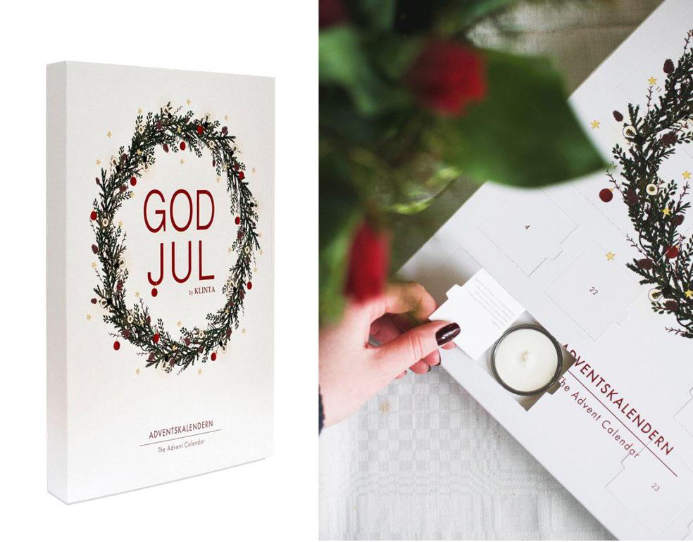 LifTe 北欧の暮らし クリスマス アドベントカレンダー LiLiCoCo LiLICo GODJUL KLINTA