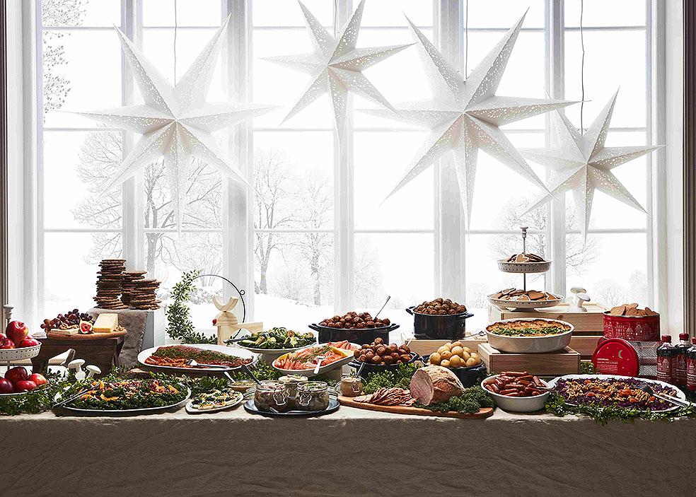 LifTe 北欧の暮らし IKEA イケア  クリスマスディナービュッフェ