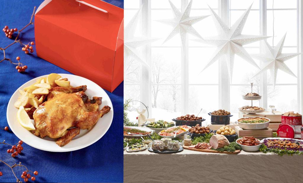 LifTe 北欧の暮らし IKEA イケア ホリデーディナーテイクアウト クリスマスディナービュッフェ ロティサリーチキン