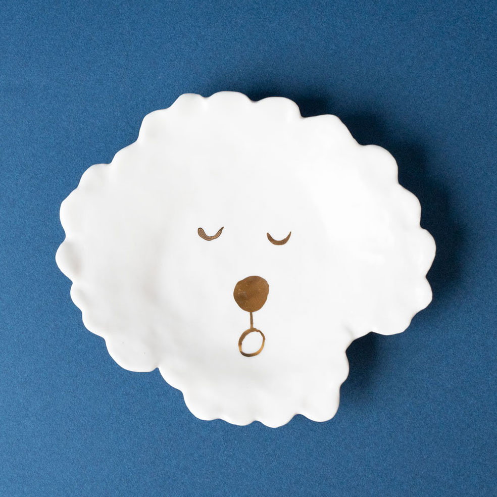 LifTe 北欧の暮らし スウェーデン エレオノール・ボストロム エレオ エレオのぴかぴかクリスマス Dog Face Plate