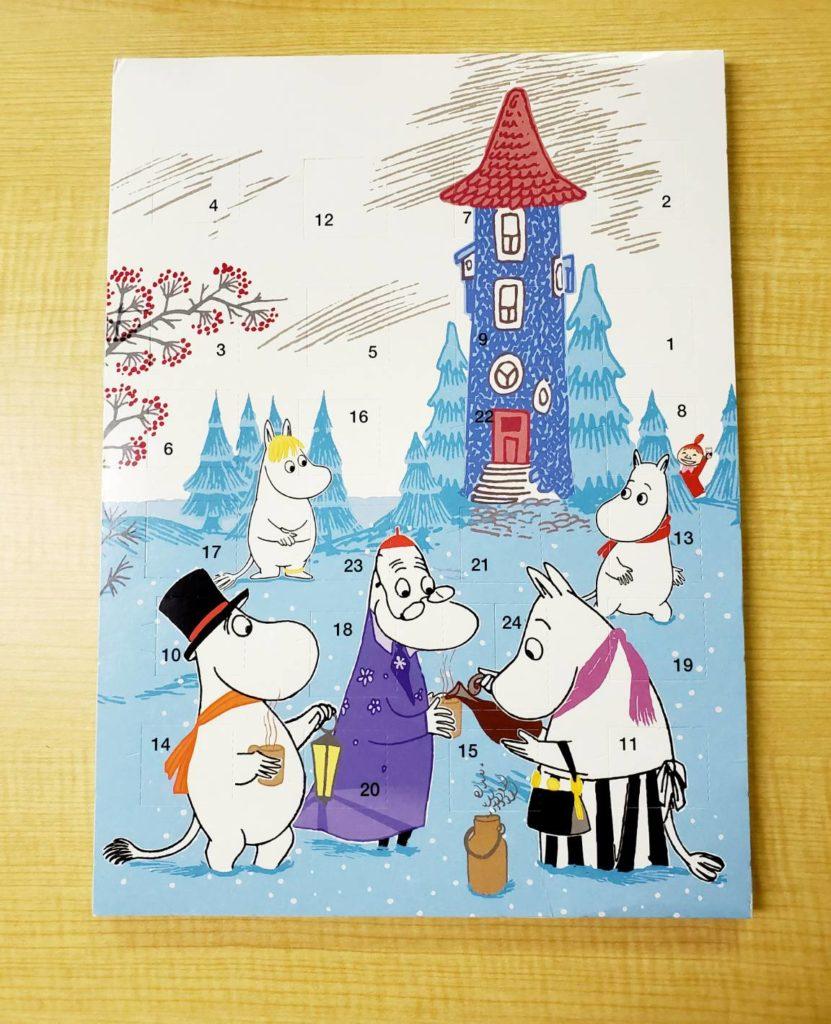 LifTe 北欧の暮らし クリスマス アドベントカレンダー ムーミン
