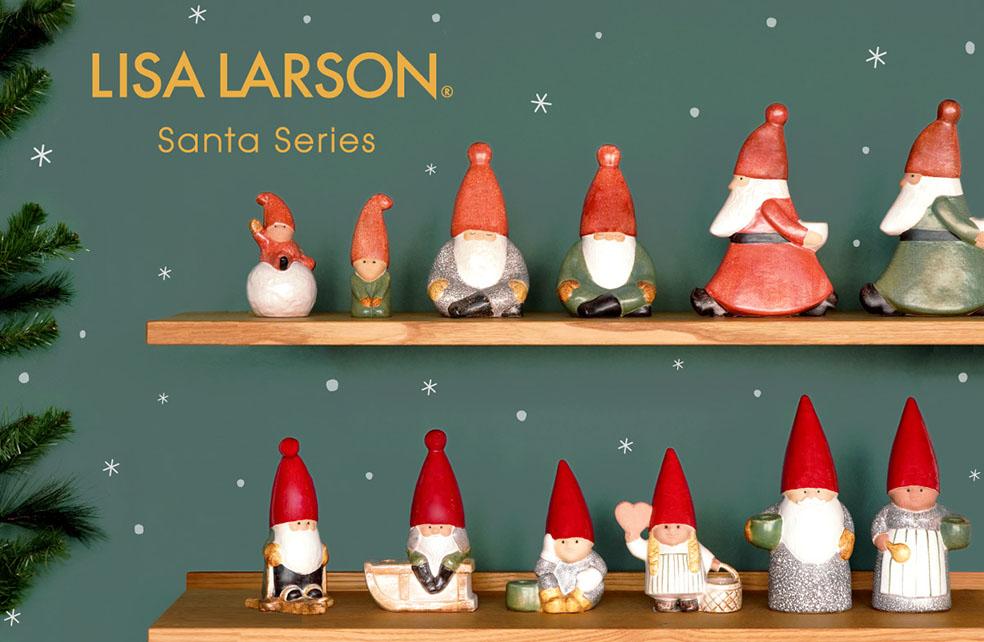 LifTe 北欧の暮らし スウェーデン リサラーソン クリスマス