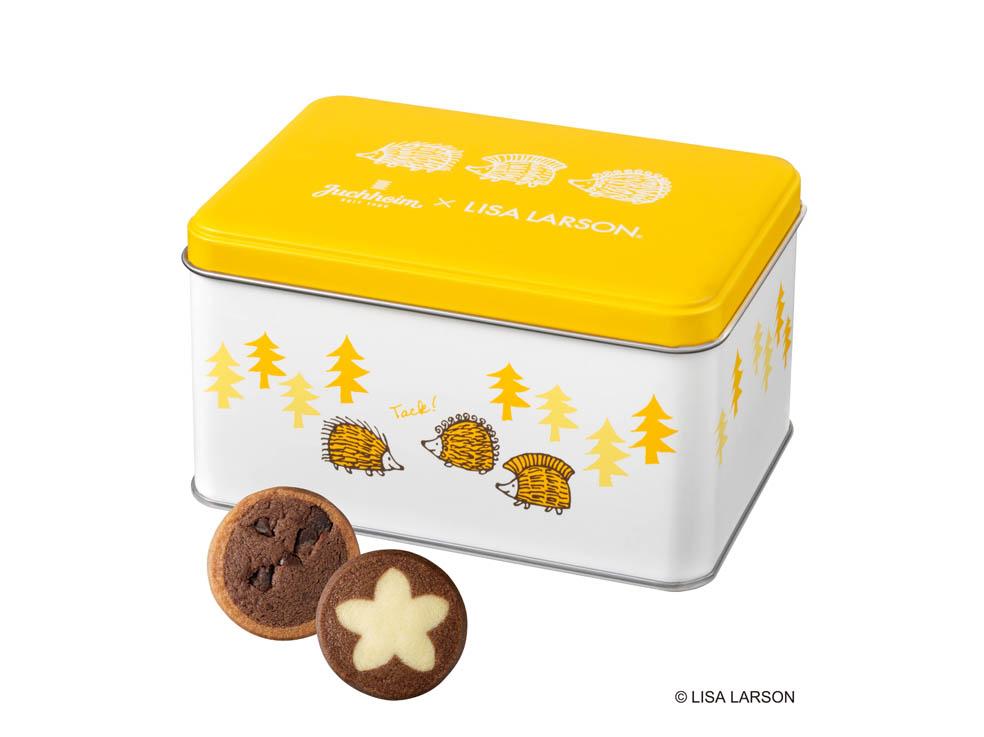 LifTe 北欧の暮らし ユーハイム リサ・ラーソン スウェーデン チョコレートクッキー ハリネズミ3兄弟