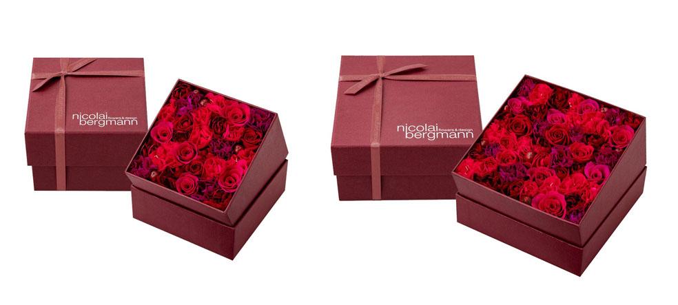 LifTe 北欧の暮らし ニコライ・バーグマン プリザードフラワー バレンタインデー ホワイトデー バレンタイン&ホワイトデー コレクション フレッシュフラワーボックス