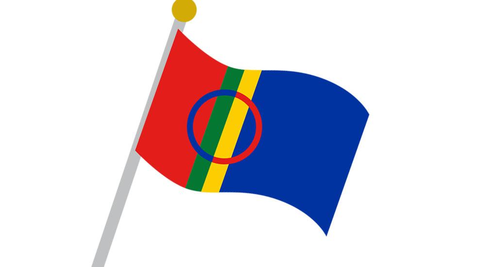 LifTe北欧の暮らし サーミ サーメ サーミ族 旗