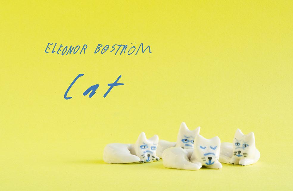 LifTe 北欧の暮らし スウェーデン 陶芸家 エレオノール・ボストロム エレオノールのねこ