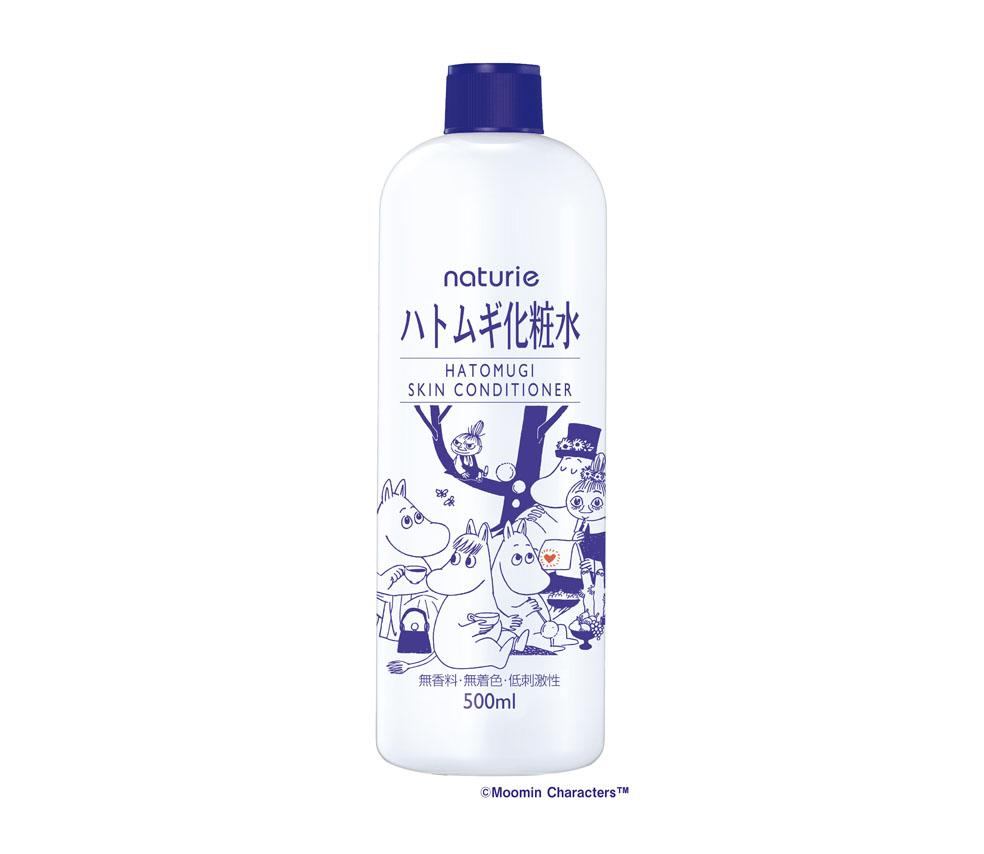 LifTe 北欧の暮らし フィンランド ハトムギ化粧水 ナチュリエ コラボ ムーミン ムーミンパパ ムーミンママ スノークのおじょうさん ミムラ姉さん リトルミイ