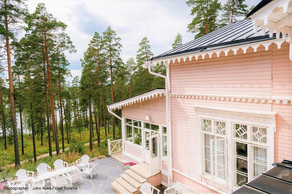LifTe 北欧の暮らし visitfinland オススメ フィンランド ホテル フィンランド政府観光局 Hotelli Punkaharju ホテル パンカハルユ