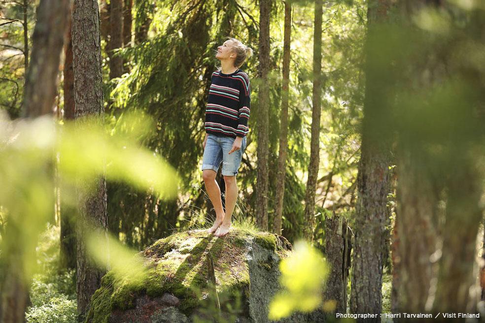 LifTe 北欧の暮らし フィンランド ヘルシンキ 国際女性デー visit finland フィンランド政府観光局 森