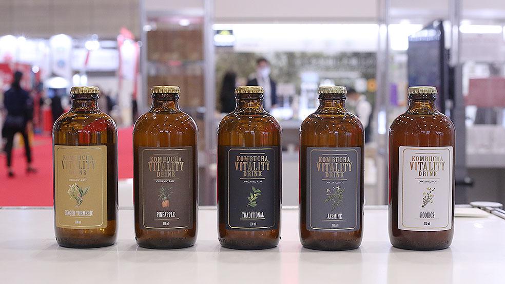 LifTe 北欧の暮らし ラトビア 日本ラトビア友好100周年 FOODEX フーデックス コンブチャ kombucha vitality drink