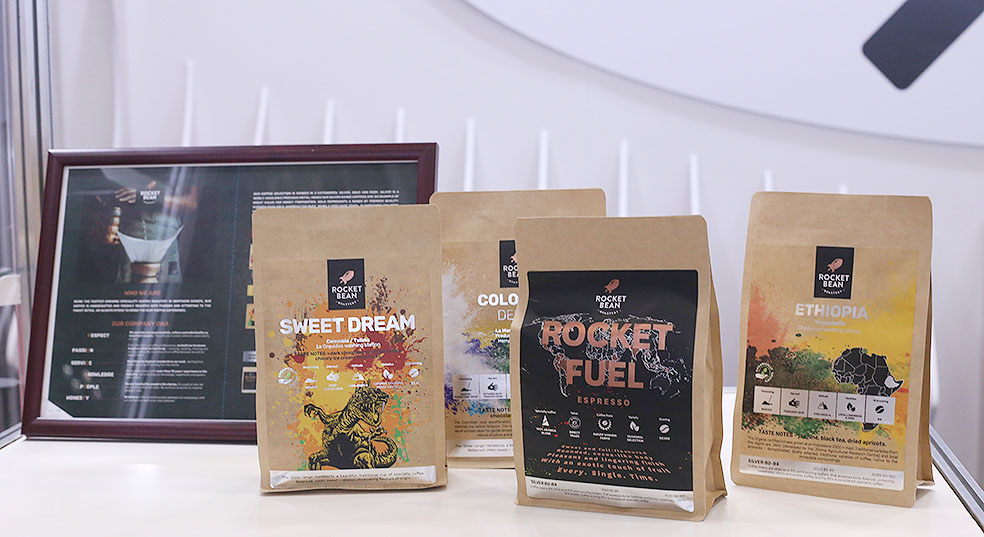 LifTe 北欧の暮らし ラトビア 日本ラトビア友好100周年 FOODEX フーデックス コーヒー rocket bean coffee