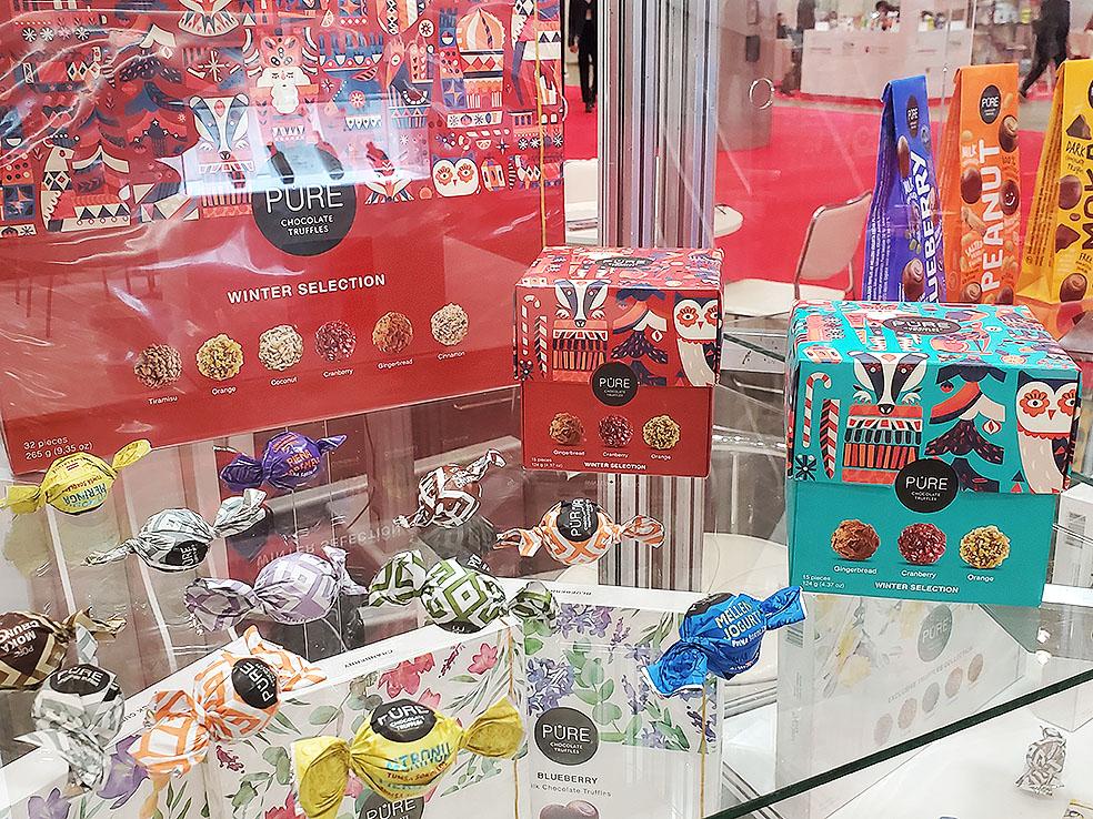 LifTe 北欧の暮らし ラトビア 日本ラトビア友好100周年 FOODEX フーデックス Pure chocolate