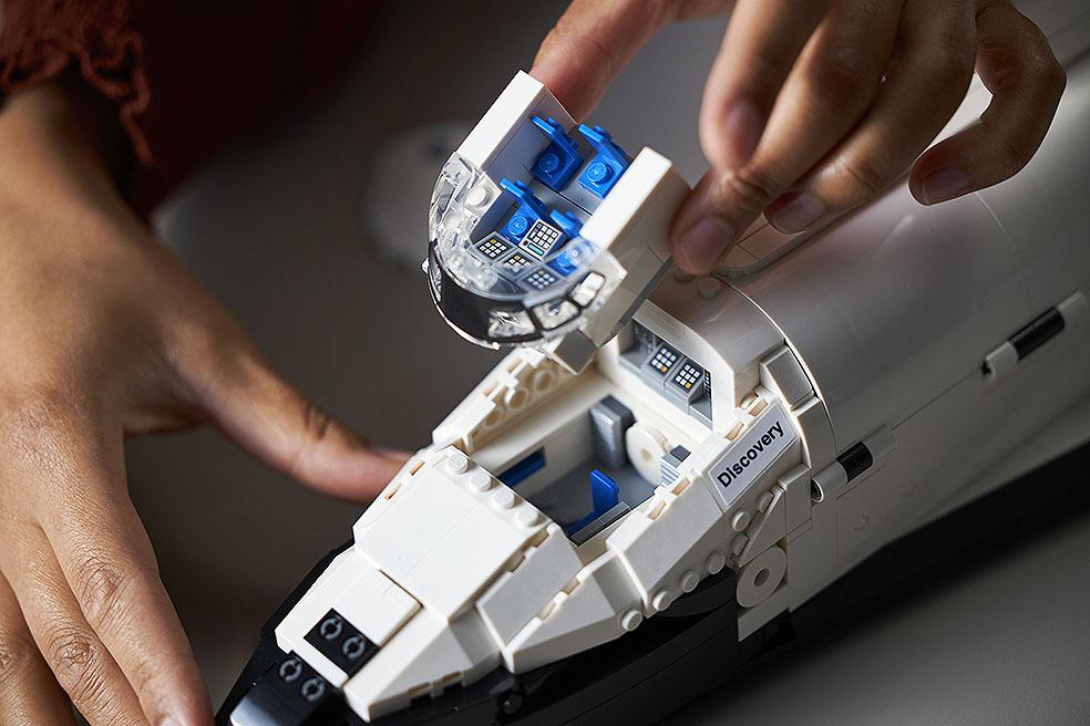 LifTe 北欧の暮らし デンマーク レゴ レゴ®NASA スペースシャトル ディスカバリー号