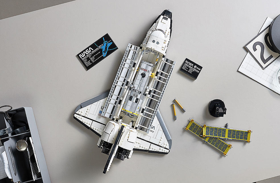 LifTe 北欧の暮らし デンマーク レゴ レゴ®NASA スペースシャトル ディスカバリー号 ハッブル宇宙望遠鏡