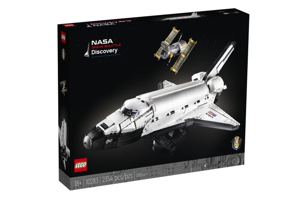 LifTe 北欧の暮らし デンマーク レゴ レゴ®NASA スペースシャトル ディスカバリー号 ハッブル宇宙望遠鏡 パッケージ