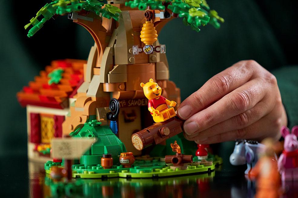LifTe 北欧の暮らし レゴ くまのプーさん レゴアイデアシリーズ ディズニー ピグレット イーヨー ティガー デンマーク