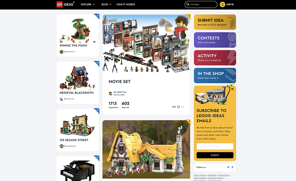 LifTe 北欧の暮らし レゴ レゴアイデアシリーズ デンマーク