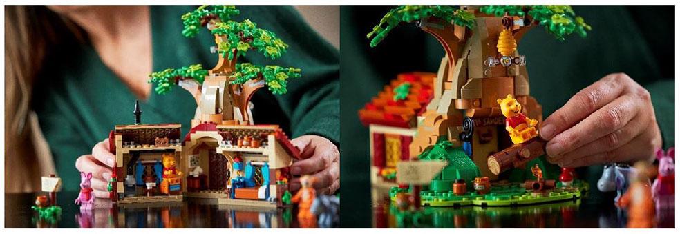 LifTe 北欧の暮らし レゴ くまのプーさん レゴアイデアシリーズ ディズニー ピグレット デンマーク