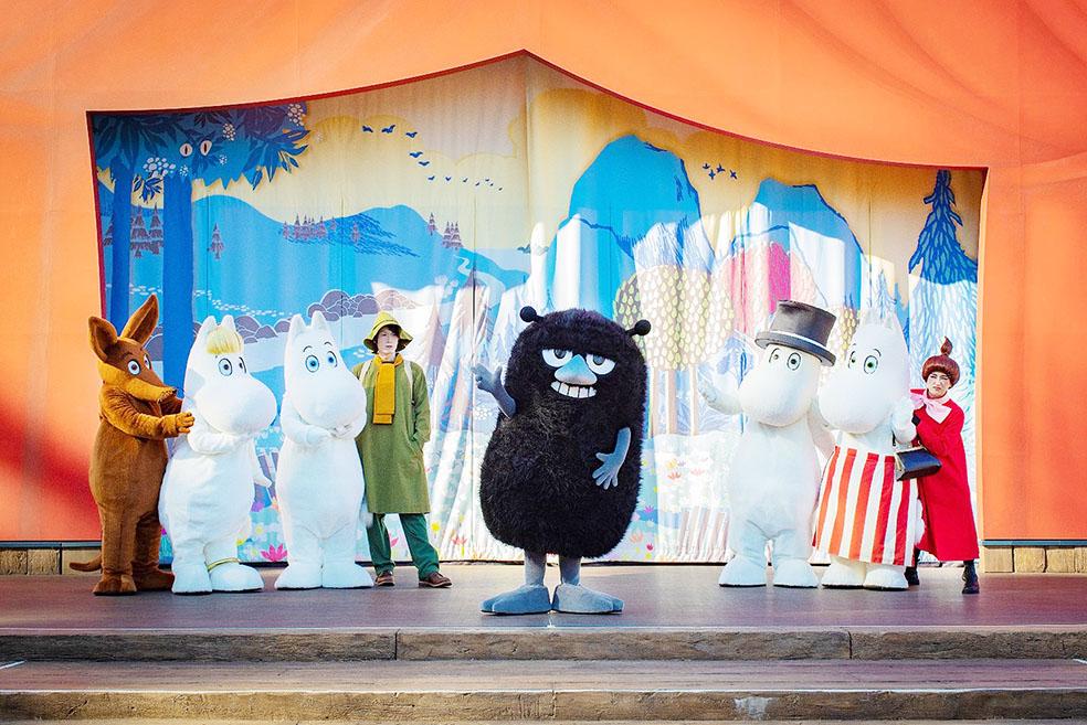 LifTe 北欧の暮らし ムーミンバレーパーク スティンキー エンマ劇場  自由でしあわせな生活