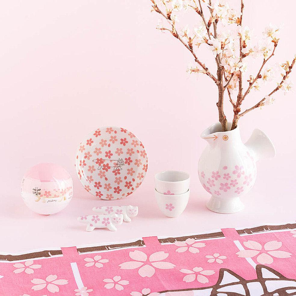 LifTe 北欧の暮らし スウェーデン リサ・ラーソン 桜 トンカチ おうちでお花見セット