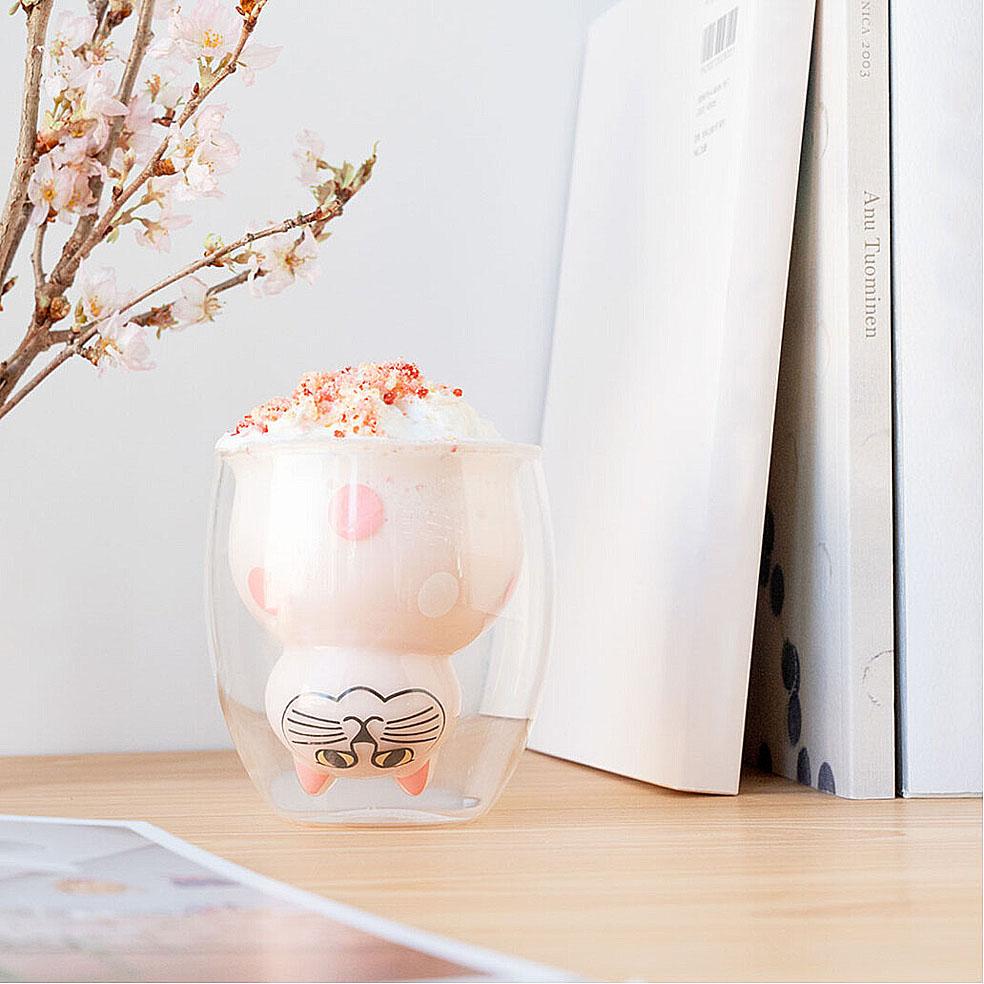 LifTe 北欧の暮らし スウェーデン リサ・ラーソン 桜 トンカチ お花見気分のグッドグラス